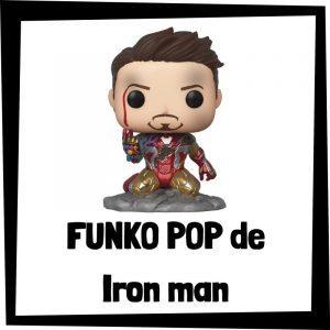 Figuras FUNKO POP baratas de Iron man - Los mejores peluches de Iron man - Peluche de Iron man de Marvel barato de felpa