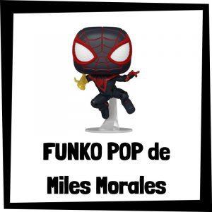 Figuras FUNKO POP baratas de Miles Morales - Los mejores peluches de Spiderman de Miles Morales - Peluche de Miles Morales de Marvel barato de felpa