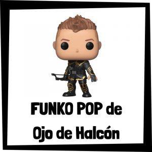 Figuras FUNKO POP baratas de Ojo de Halcón - Los mejores peluches de Ojo de Halcón - Peluche de Hawkeye de Marvel barato de felpa