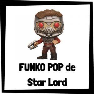 Figuras FUNKO POP baratas de Star Lord - Los mejores peluches de Star Lord - Peluche de Star Lord de los Guardianes de la Galaxia de Marvel barato de felpa