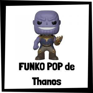 Figuras FUNKO POP baratas de Thanos - Los mejores peluches de Thanos - Peluche de Thanos de Marvel barato de felpa