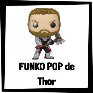 Figuras FUNKO POP baratas de Thor con martillo - Los mejores peluches de Thor - Peluche de Thor de Marvel barato de felpa