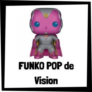 Figuras FUNKO POP baratas de Vision - Los mejores peluches de Vision - Peluche de Vision de Marvel barato de felpa