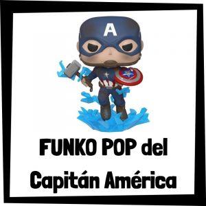 Figuras FUNKO POP baratas del Capitán América - Los mejores peluches del Capitán América - Peluche del Capitán América de Marvel barato de felpa