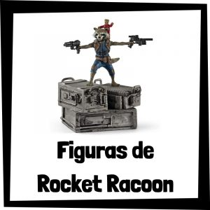 Figuras baratas de Rocket Racoon - Los mejores peluches de Rocket Racoon - Peluche de Rocket Racoon de los Guardianes de la Galaxia de Marvel barato de felpa