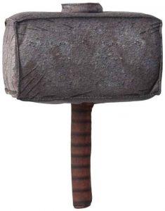 Martillo de Thor de 11 cm - Los mejores peluches de Thor - Peluches de superhéroes de Marvel