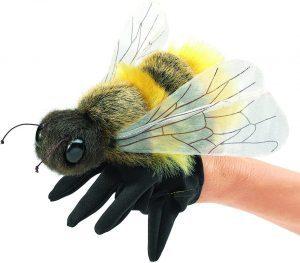 Peluche de Abeja de Folkmanis de 17 cm - Los mejores peluches de abejas - Peluches de animales