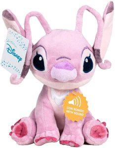 Peluche de Angel de Lilo y Stitch de 29 cm - Los mejores peluches de Stitch - Peluches de Disney