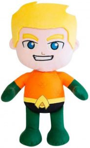 Peluche de Aquaman clásico de 20 cm - Los mejores peluches de Aquaman - Peluches de superhéroes de DC