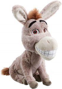 Peluche de Asno de Shrek de Dreamworks de 25 cm - Los mejores peluches de burros - Peluches de animales