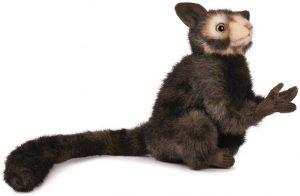 Peluche de Aye-Aye de Hansa de 20 cm - Los mejores peluches de lémures - Peluches de animales