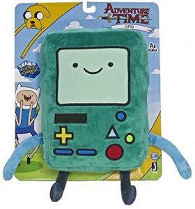 Peluche de BMO de 28 cm - Los mejores peluches de Hora de Aventuras - Peluches de personajes de Hora de Aventuras - Adventure Time