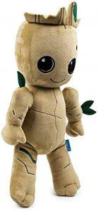 Peluche de Baby Groot de 20 cm - Los mejores peluches de Groot de los Guardianes de la Galaxia - Peluches de superhéroes de Marvel