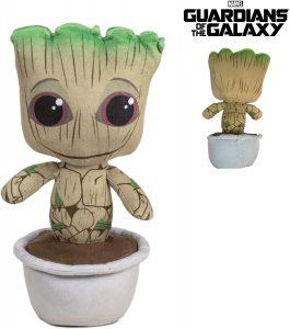 Peluche de Baby Groot maceta de 26 cm - Los mejores peluches de Groot de los Guardianes de la Galaxia - Peluches de superhéroes de Marvel
