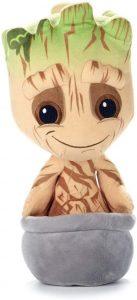 Peluche de Baby Groot maceta de 30 cm - Los mejores peluches de Groot de los Guardianes de la Galaxia - Peluches de superhéroes de Marvel