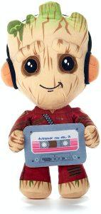 Peluche de Baby Groot música de 33 cm - Los mejores peluches de Groot de los Guardianes de la Galaxia - Peluches de superhéroes de Marvel