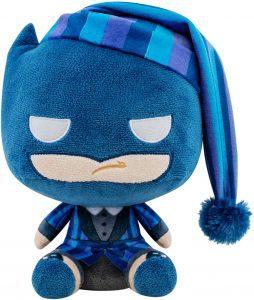 Peluche de Batman Navidad de FUNKO de DC Comics de 12 cm - Los mejores peluches de Batman - Peluches de superhéroes de DC
