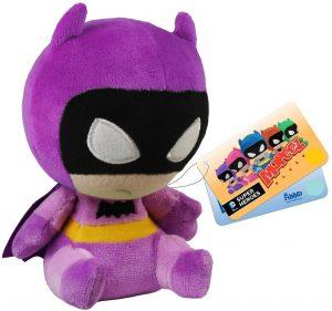 Peluche de Batman morado de FUNKO de DC Comics de 12 cm - Los mejores peluches de Batman - Peluches de superhéroes de DC