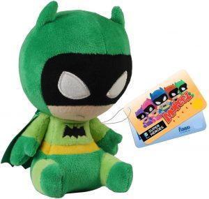 Peluche de Batman verde de FUNKO de DC Comics de 12 cm - Los mejores peluches de Batman - Peluches de superhéroes de DC