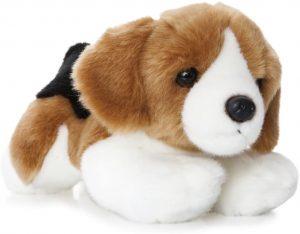 Peluche de Beagle de Aurora World de 28 cm - Los mejores peluches de beagles - Peluches de perros