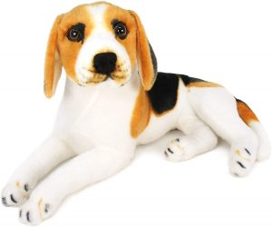 Peluche de Beagle de Viahart de 43 cm - Los mejores peluches de beagles - Peluches de perros