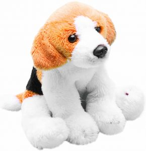 Peluche de Beagle de Yomiko de 14 cm - Los mejores peluches de beagles - Peluches de perros