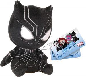 Peluche de Black Panther de 12 cm de FUNKO - Los mejores peluches de Black Panther - Peluches de superhéroes de Marvel