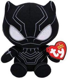 Peluche de Black Panther de 16 cm de Ty - Los mejores peluches de Black Panther - Peluches de superhéroes de Marvel