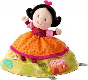 Peluche de Blancanieves y los 7 enanitos de 16 cm de LILLIPUTIENS - Los mejores peluches de Blancanieves - Peluches de Disney