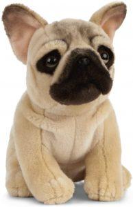 Peluche de Bulldog de 20 cm de Living nature 2 - Los mejores peluches de bulldogs - Peluche de animales