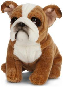 Peluche de Bulldog de 20 cm de Living nature - Los mejores peluches de bulldogs - Peluche de animales