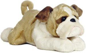 Peluche de Bulldog de Aurora de 3 cm - Los mejores peluches de bulldogs - Peluches de perros