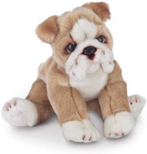 Peluche de Bulldog de Bearington de 33 cm - Los mejores peluches de bulldogs - Peluches de perros