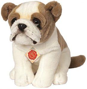 Peluche de Bulldog de Hermann Teddy de 27 cm - Los mejores peluches de bulldogs - Peluches de perros