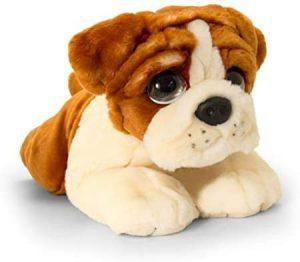 Peluche de Bulldog de Keel Toys de 37 cm - Los mejores peluches de bulldogs - Peluches de perros