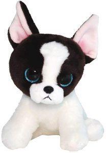 Peluche de Bulldog de Ty de 15 cm - Los mejores peluches de bulldogs - Peluches de perros