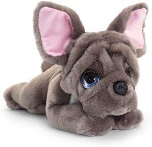 Peluche de Bulldog francés de Keel Toys de 32 cm - Los mejores peluches de bulldogs - Peluches de perros