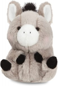 Peluche de Burro de Aurora de 13 cm - Los mejores peluches de burros - Peluches de animales