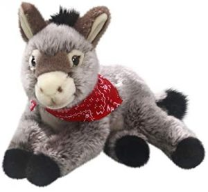 Peluche de Burro de Carl Dick de 25 cm - Los mejores peluches de burros - Peluches de animales