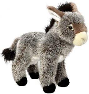 Peluche de Burro de Carl Dick de 28 cm - Los mejores peluches de burros - Peluches de animales