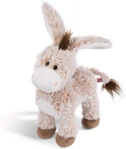 Peluche de Burro de NICI de 33 cm - Los mejores peluches de burros - Peluches de animales