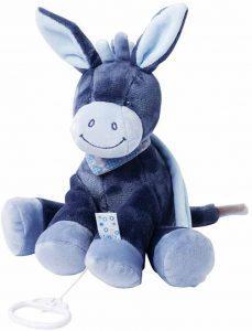 Peluche de Burro de Nattou de 32 cm - Los mejores peluches de burros - Peluches de animales