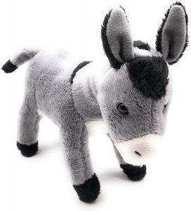 Peluche de Burro de Onwomania de 23 cm - Los mejores peluches de burros - Peluches de animales
