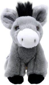 Peluche de Burro de Wilberry de 16 cm - Los mejores peluches de burros - Peluches de animales