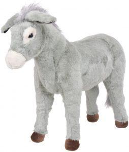 Peluche de Burro de vidaXL de 81 cm - Los mejores peluches de burros - Peluches de animales
