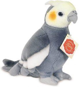 Peluche de Cacatúa de Hermann Teddy de 17 cm - Los mejores peluches de cacatúas - Peluches de animales
