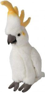 Peluche de Cacatúa de WWF de 24 cm - Los mejores peluches de cacatúas - Peluches de animales
