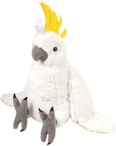 Peluche de Cacatúa de Wild Republic de 30 cm - Los mejores peluches de cacatúas - Peluches de animales