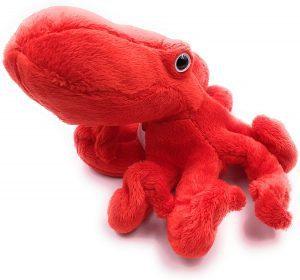 Peluche de Calamar de Onwomania de 20 cm - Los mejores peluches de calamares - Peluches de animales