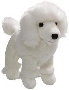 Peluche de Caniche blanco de Carl Dick de 17 cm - Los mejores peluches de caniches - Peluches de perros